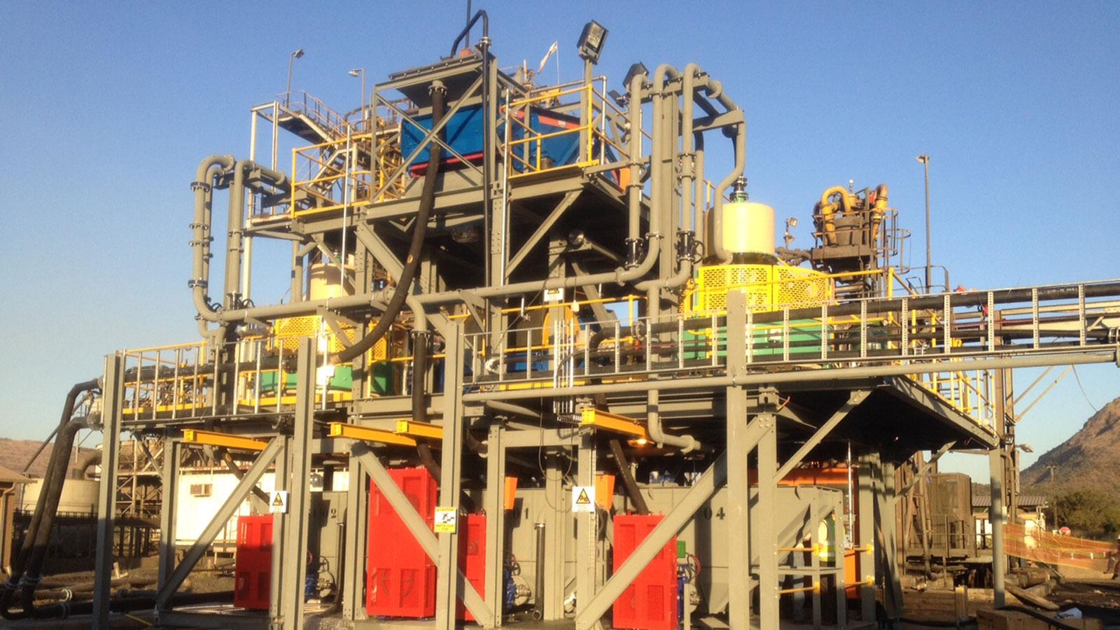Samancor, Chrome Processing Plant