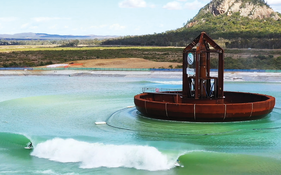 Gold Coast engineering firm finalises technology behind world-first wave machine